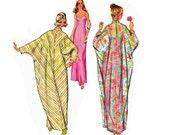 Simplicity 5720 Vintage Caftan Slip & Turban Pattern Size MEDIUM 12 - 14 Bust 34 - 36 inches