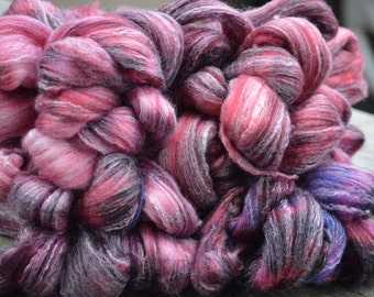 Berry Pie - Hand Dyed Roving