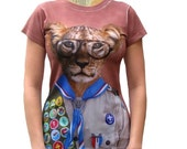 ON SALE Scott the Scout Womens Tshirt