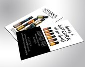 doTERRA Essential Oils, 250 Silk Business Cards