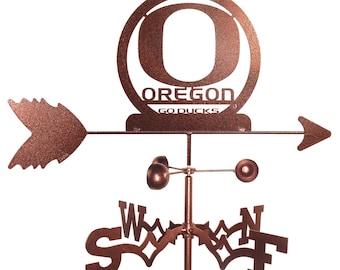 Hand Made Oregon Ducks Weathervane New