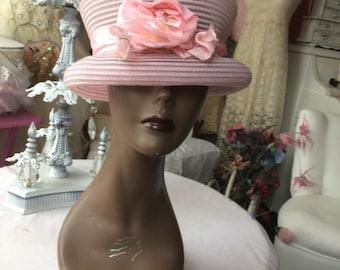Beautiful  Shabby Chic Hat from Marshall Fields