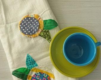 Garden Party Flour Sack Tea Towel