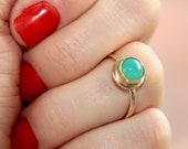 Mint Green Ring * Green Ring * Stone Ring * Stackable Rings * Little Rings * Ring Green * Petite Ring * Small Ring * Stone Ring * Mint Green