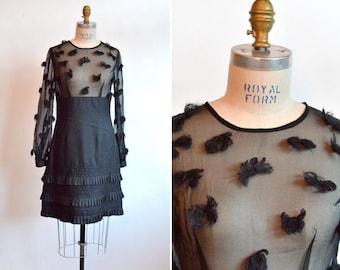 DOUGLAS HANNANT silk chiffon party dress