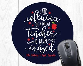 Teacher Gifts Teacher Christmas Gift for Teacher Classroom Decor Personalized Teacher Mouse Pad Teacher Mouse Pads Teacher Appreciation Gift
