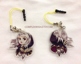 Reversible Fire Emblem Charm - Female Robin