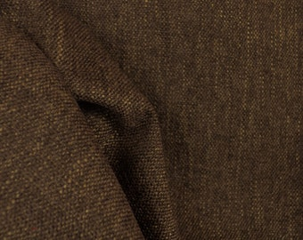 Mystic Chocolate Brown Upholstery Fabric