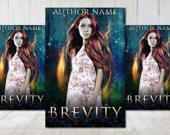 "Premade Digital eBook Book Cover Design ""Brevity"" Paranormal Romance Urban Fantasy YA Young Adult Fiction"
