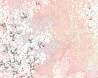Bokashi Blossoms Fabric