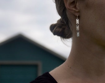 Triple Tree Trunk Earrings