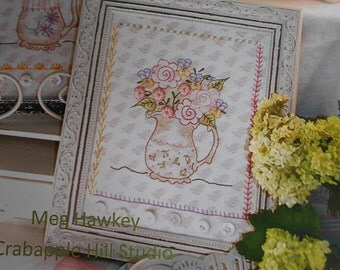 Crabapple Hill no 259 Breath of Spring Embroidery pattern flower design