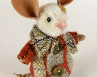 Mouse with coat