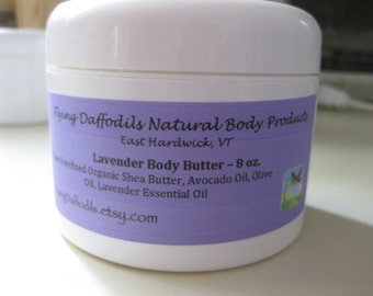 Lavender Body Butter - 8oz
