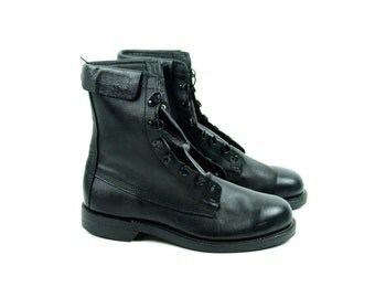Military Flyer's Boot in Perfect Condition, Men's Size 12 D