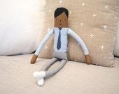 Dot Tie Boy Doll (Little People)