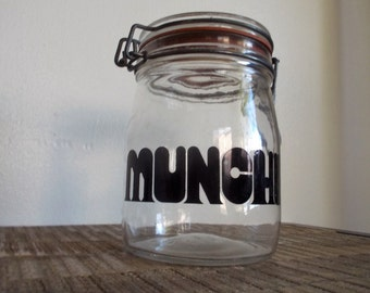 The Ultimate Munchies Typography Jar - Tellin It Like It Is