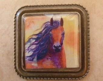 Beautiful Horse Magnet