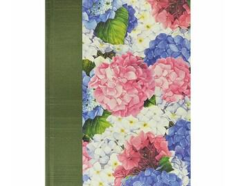 Blank Book  Blank Paper Journal HYDRANGEAS