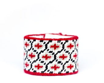 diy needlepoint cuff kit