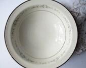 Serving Bowl Noritake Heather White Floral - Vintage Chic