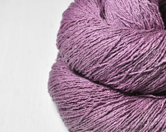 Withering bunch of roses- Silk Noil Lace Yarn - LIMITED EDITION