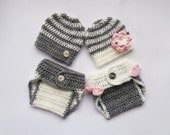 Newborn Twin Outfits _NewBorn Baby Girl Twin Outfits _  Baby Twins Hospital Outfits_ Photography Outfit Baby Twins
