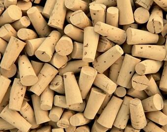 10 Premium Corks (Size 000) Best Quality Natural (tops/lids/caps/plugs/tiny/little/miniature/glass/bottles/