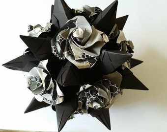 Kusudama Tornillo with roses 2