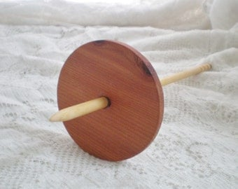 Spiral Tip Spindle Cedar and Birch Low Whorl 16g