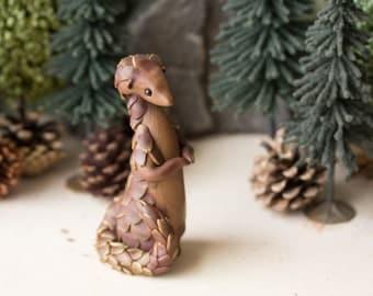 Pangolin Figurine by Bonjour Poupette