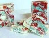 Fall Splendor Handmade Cold Process Soap with Jojoba, Hemp, Argan, Wheatgerm,  Shea, Cocoa and Mango Butters