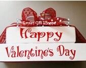 Valentine's Day Sale, Valentine's Day Decal Sticker, Holiday Decals, Vinyl Decal Sticker, WOOD NOT INCLUDED, santasgiftshoppe decals