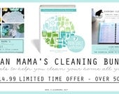 Clean Mama's Cleaning Bundle - 50% off - 80+ pages of cleaning goodness - limited time offer!