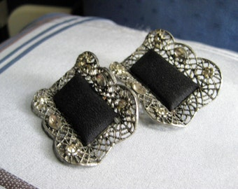 Antique Victorian Shoe Clips