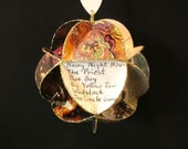 Joni Mitchell Album Cover Ornament Made Of Record Jackets