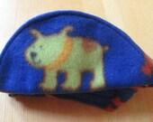 ENGLISH BULLDOG REVERSIBLE hat Funny Dog Hat, Fall, Winter Hat, warm, Blue, bright dogs,matches Coats Bulldog Hat, Pet Clothes, dog hat