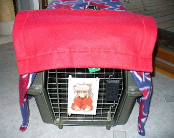 Pet Crate or Pet Travel Carrier Cover