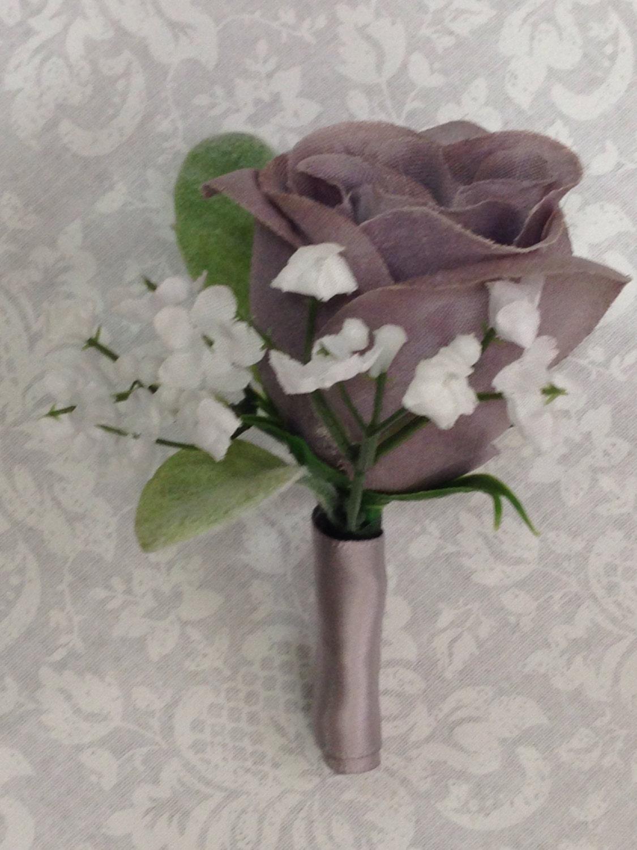 Grey Bridal Wedding Bouquets Gallery Photo