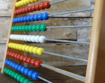 Abacus With Plastic Beads