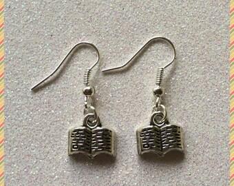 Bookworm Earrings