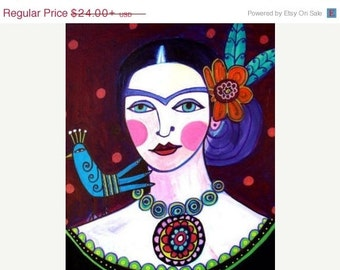 55% Off- Frida Kahlo art  Art Print Poster by Heather Galler Print (HG456)