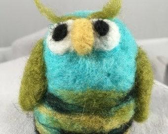 Needlefelted Owl