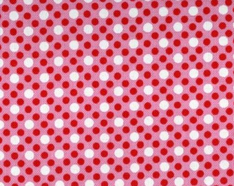Michael Miller Dim Dots Pink fabric - 1 yard