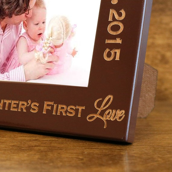 Dad And Daughter Personalized Picture Frame Gift For Dad