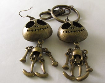 Big Zombie Keychain/Earrings