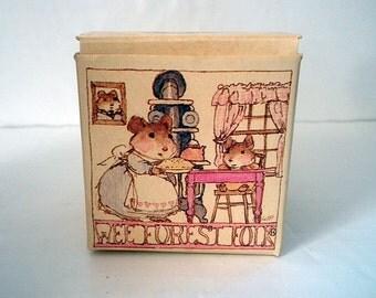 Vintage Wee Forest Folk Box William Peterson 1983