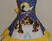 Aladdin and Jasmine dress size  6 7 8