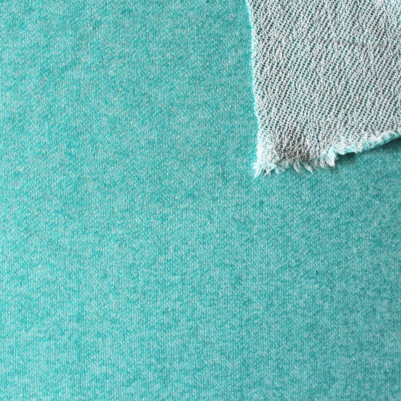 Jade Heathered French Terry Kn...