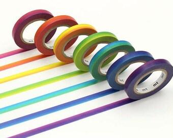 mt Rainbow Tape masking washi tape